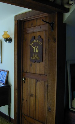 Homemade Bedroom Door & Country Home Plans by Natalie - Primitive Country Home - Homemade ...