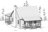 Country Home Plan F-1055