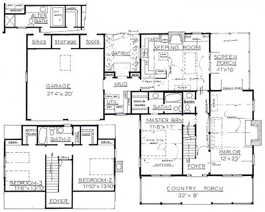 Floor plan for the charmed house for Charmed house blueprints
