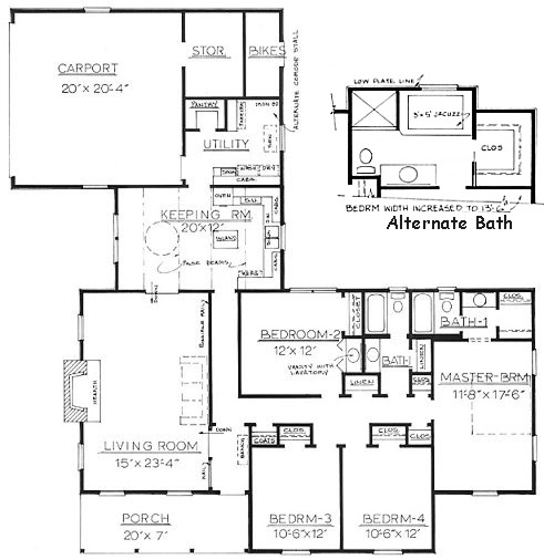 House plans ranch with mother in law suite house plans for In law floor plans