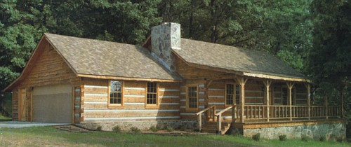 Log home plans by natalie easy living great log home for Log cabins under 1000 square feet