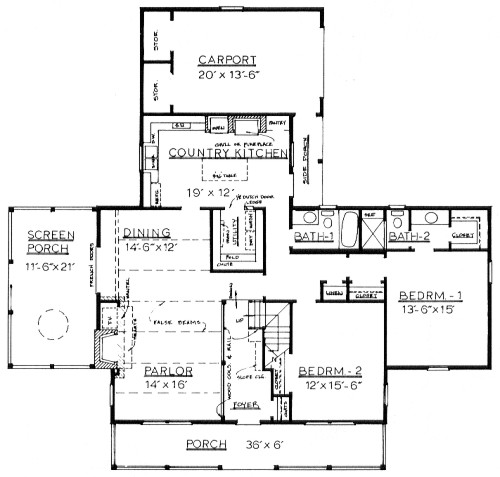 Country home plans by natalie